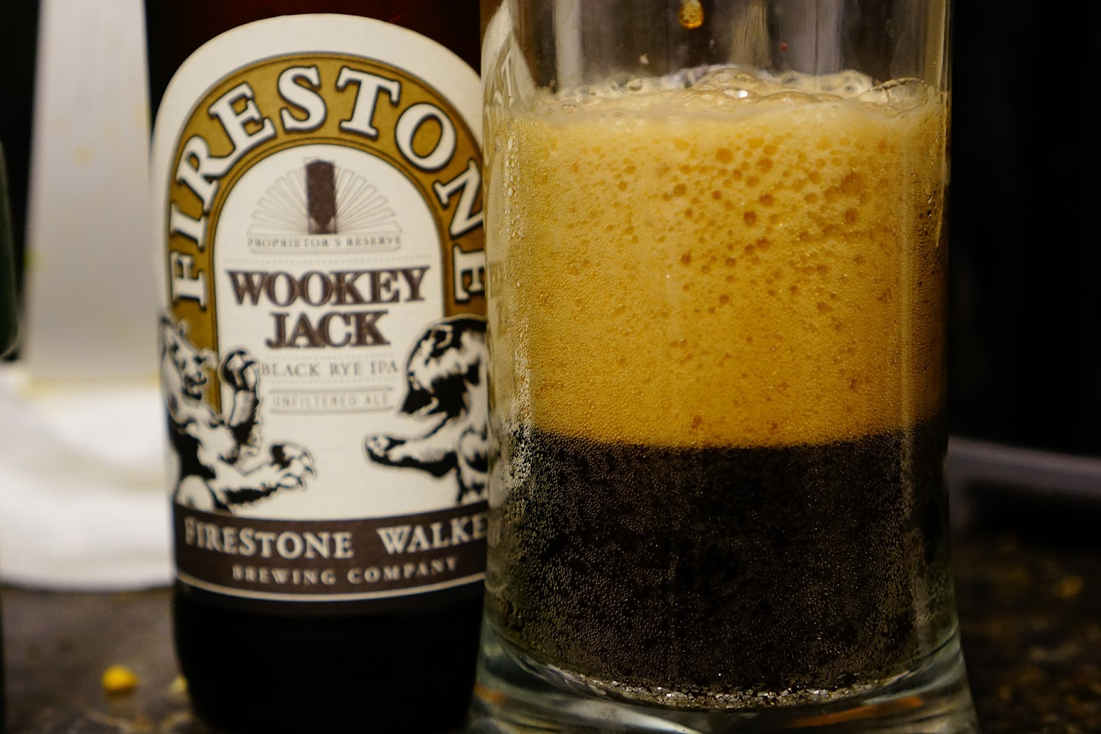 Firestone Walker Wookey Jack partial pour