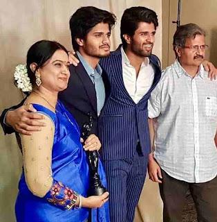 Anand Devarakonda His Brothers And Parents