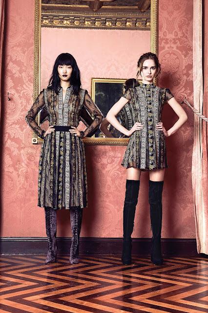Brocade dresses