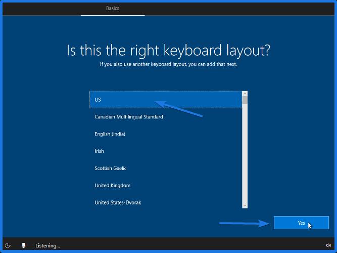 Right Keyboard Layout