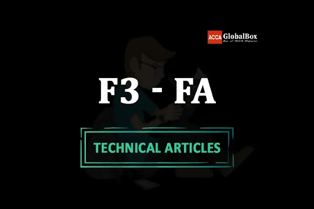 F3 - (FA) - 2021 | ALL in One Technical Articles