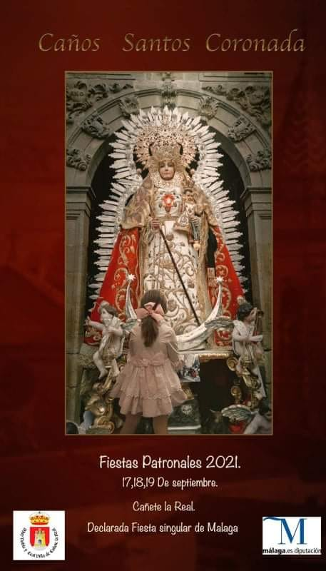 Cartel anunciador de la festividad de Nuestra Señora de Caños Santos Coronada 2021
