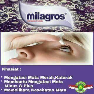 milagros untuk sakit mata