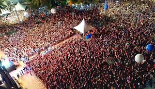 Festival Louvor e Adoração reúne mais de 200 mil pessoas na orla de João Pessoa