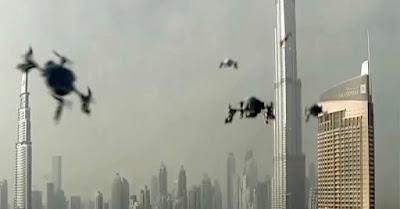 Wow! Penyelenggaraan Kejuaran Drone Pertama Di Dunia