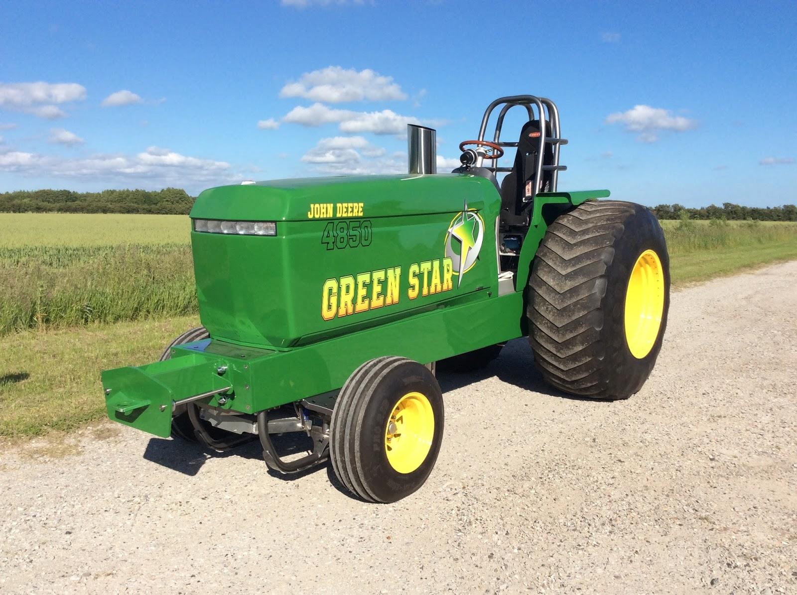 Pro Stock Garden Tractor Puller : Tractor pulling news pullingworld new john deere