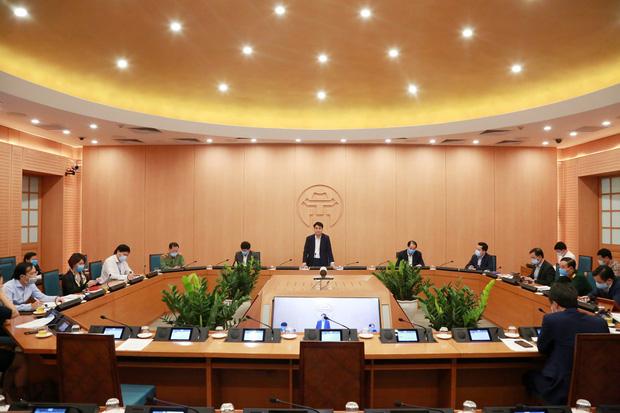 Chủ tịch HN: 'Tuần này là thời gian quyết định đến thắng lợi của công tác phòng chống dịch'