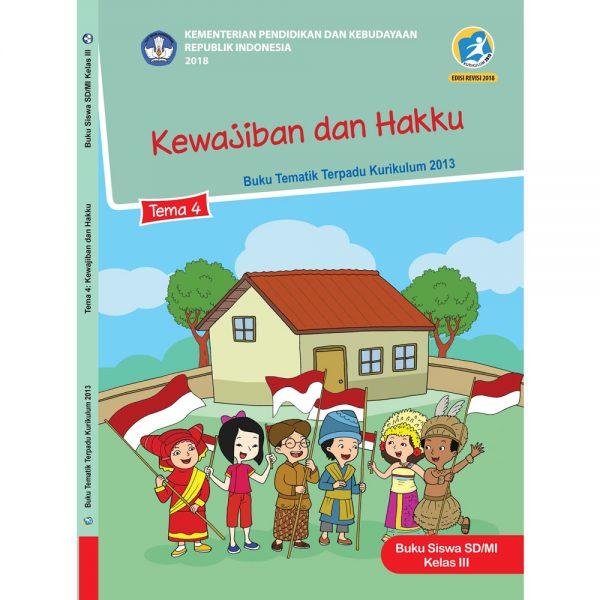 Download teladan RPP Kelas 3 Semester 1 Tema 4 Kurikulum 2013 Revisi 2018 Subtema 1 2 3 4 Pembelajaran 1 2 3 4 5 6