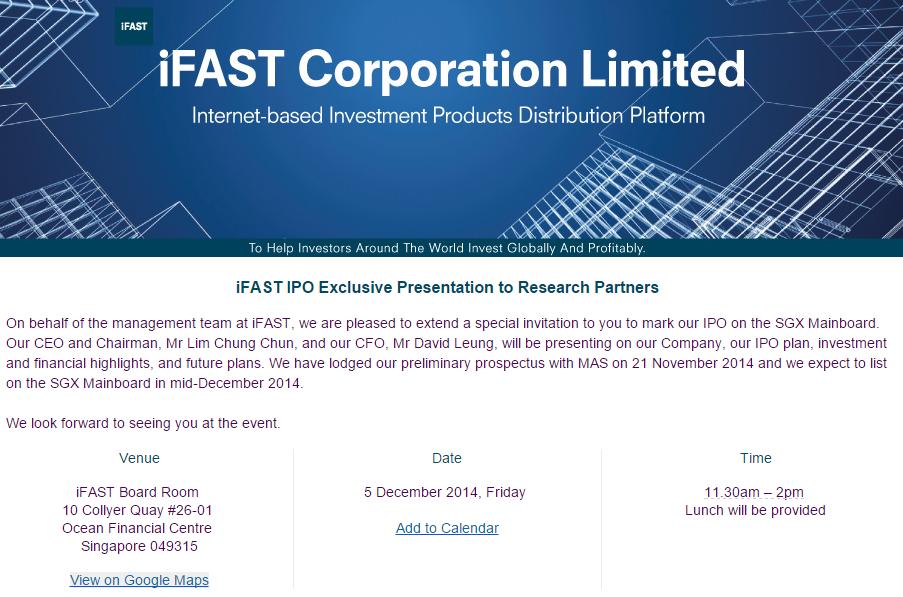 Singapore IPOs: 2014