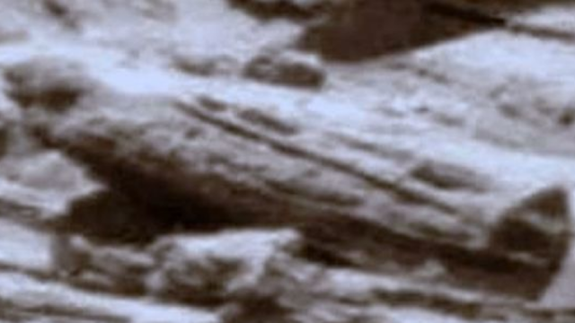 There are two actual Egyptian looking sarcophagus's on Mars.