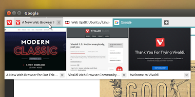Vivaldi web browser Ubuntu