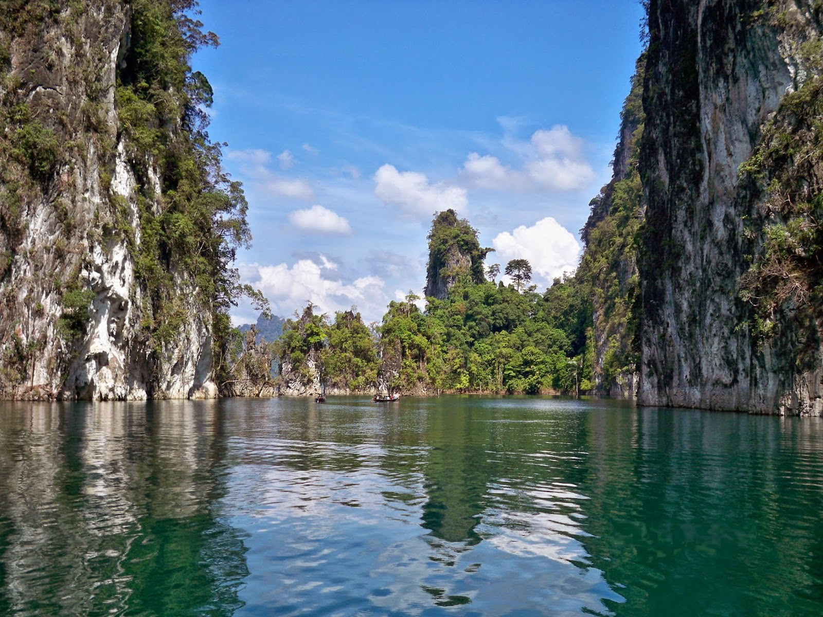 Der Chiew Larn See, Khao Sok National Park Thailand
