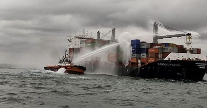 difficult to move ship due to sink