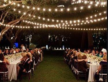 luce matrimoni catene lampadine