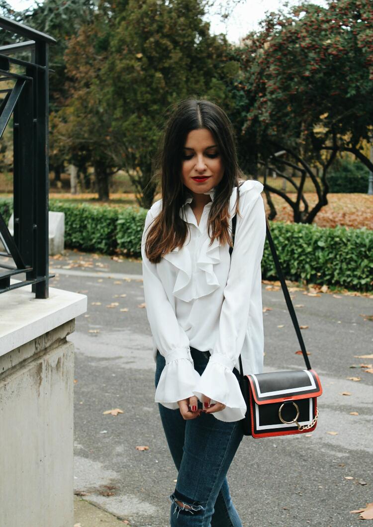 blusa de volantes blog de moda leon