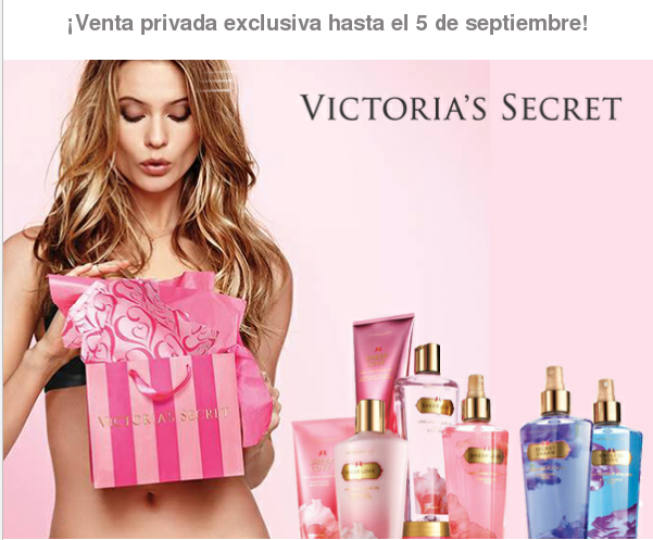 chollos victoria's secret