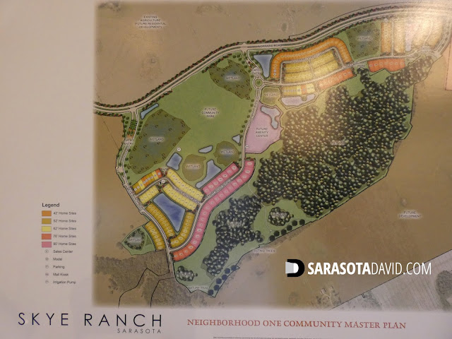 Skye Ranch Sarasota community site map