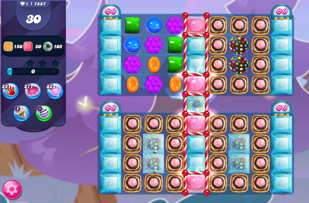Candy Crush Saga level 7587