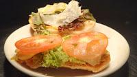 Lettuce tomato on hot dog bun Food Recipe