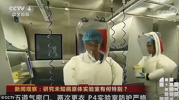 Mondo intero sta parlando del laboratorio con 1.500 tipi di virus a Wuhan, ma guarda le immagini al interno