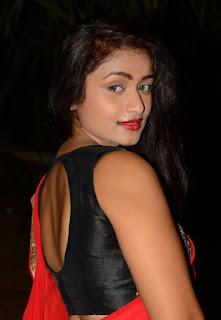 Kiran Chetavani Hot Stills in Saree 9.jpg