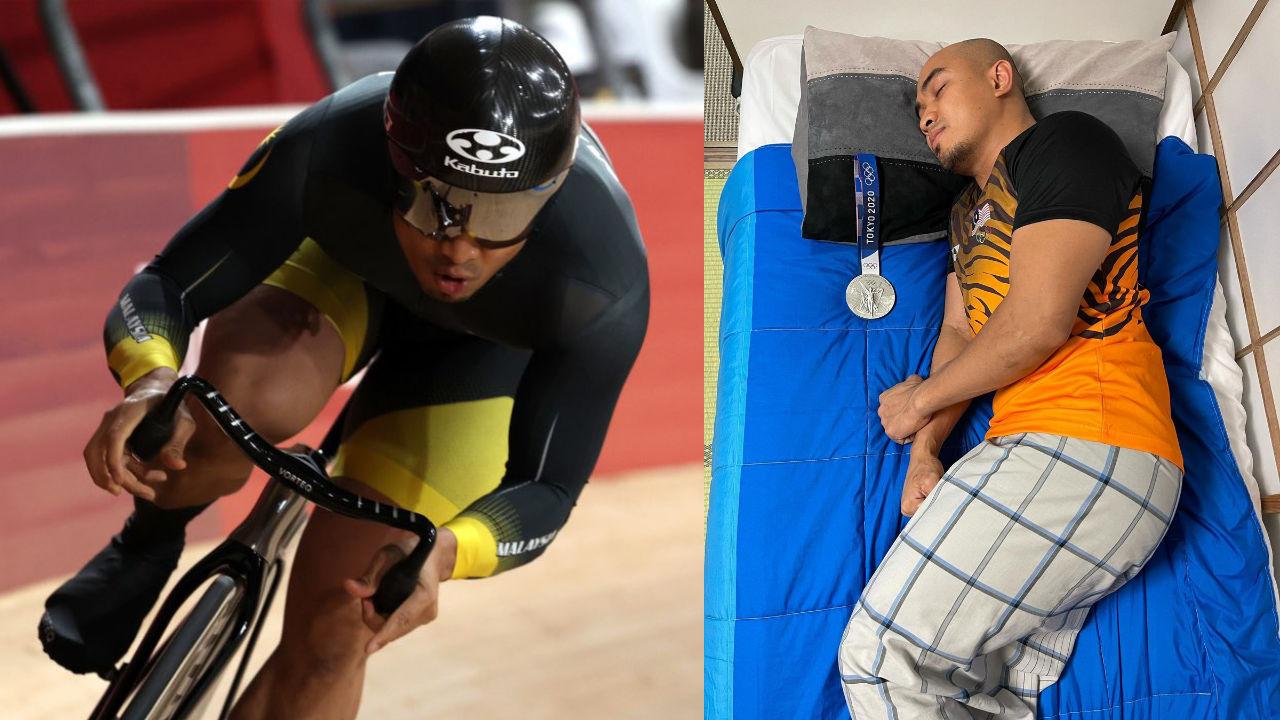 Azizulhasni Awang belanja pose 'gambar wajib' selepas memenangi pingat Gangsa Olimpik Tokyo 2020