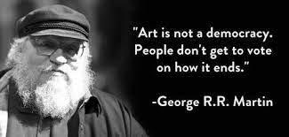 Meme sobre George R. R. Martin