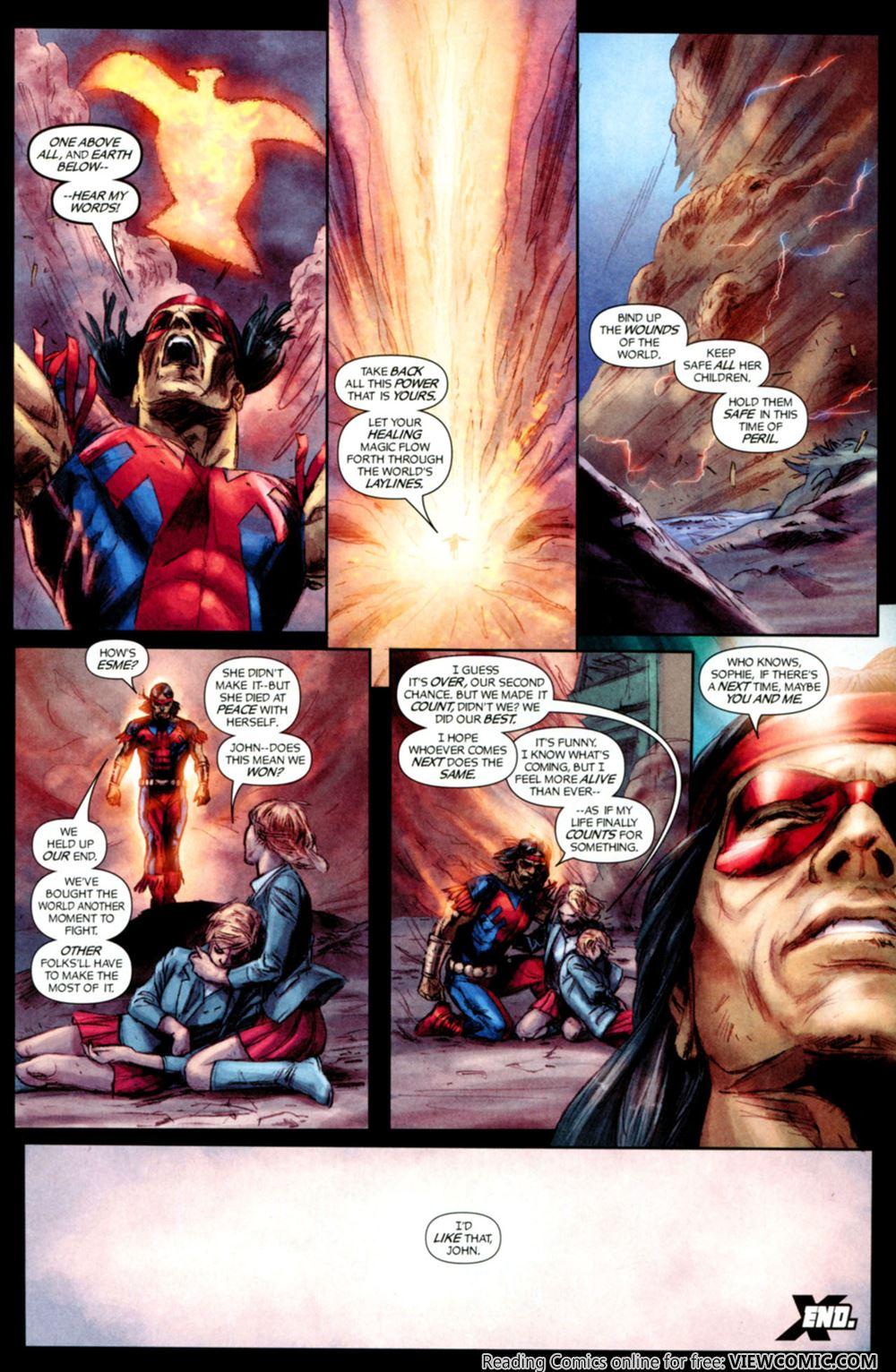 Chaos War 18 – X-Men 2 of 2 (2011) | Viewcomic reading
