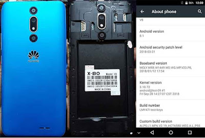 Huawei X-BO V8 Flash File