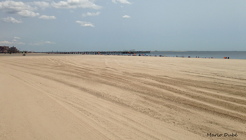 La plage de Coney Island (Brooklyn)