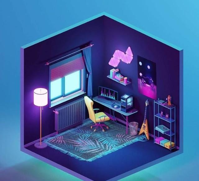 Konsep Desain Ruang Komputer Keren Untuk Blogger