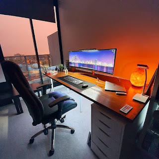 PC Gaming Room Idea For Big Room