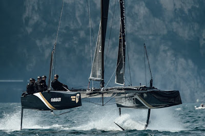 GC32 et M32 pour Spindrift racing de Yann Guichard