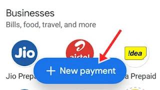 new payment par click kare