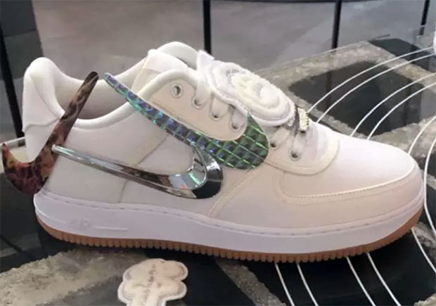 "super popular 51c01 5d918 Travis Scott recently got his very own ""Cactus Jack"" Jordan Trunner LX, and  now it looks like he s partnered with Nike Sportswear for an Air Force 1  Low, ..."