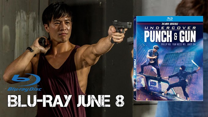 UNDERCOVER PUNCH & GUN on BLU-RAY & DVD June 8 (Well Go USA)