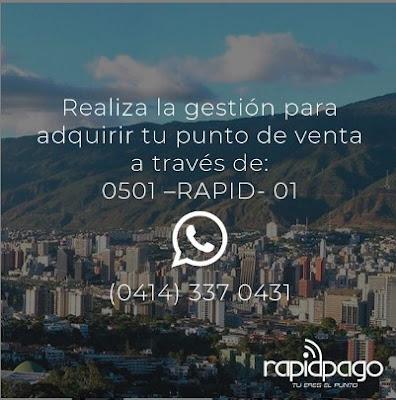 Rapidpago puntos venezuela