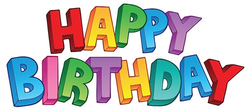 Best Happy Birthday Transparent Background PNG Images