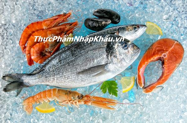 hải sản đông lạnh có tốt như hải sản tươi
