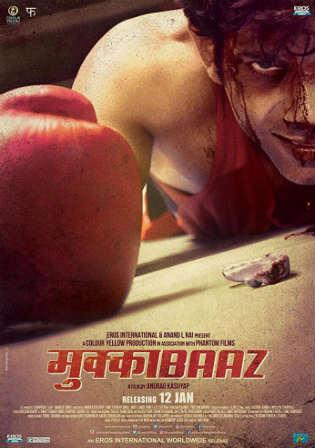 Mukkabaaz 2017 Pre DVDRip Full Hindi Movie Download x264 Watch Online Free Worldfree4u 9xmovies
