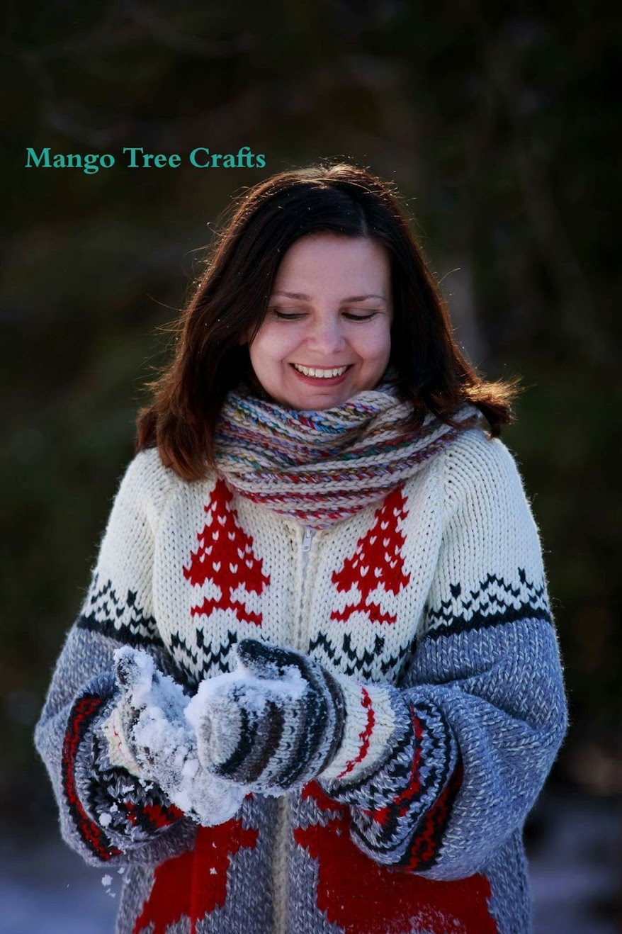 Mary Maxim Roots Cowichan Sweater Pattern Review