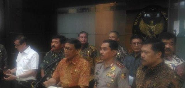 Wiranto Beri Peringatan ke Eks HTI, Siap-siap Dijerat Hukum Jika Masih Kampanye Anti Pancasila