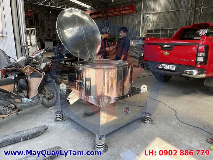 Máy vắt ly tâm công nghiệp Vĩnh Phát bằng inox 304 chất lượng cao
