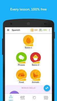 تحميل تطبيق دولينجو تعلَّم الإنجليزية بسهولة مجانا