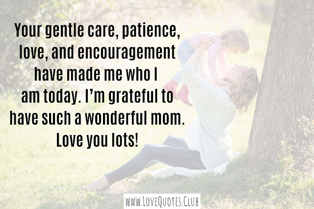 love quotes for a mother