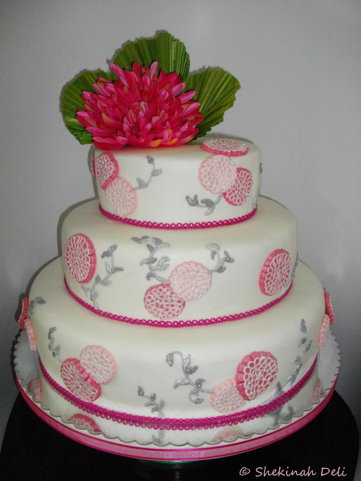 Shekinah Deli Wedding Cake Japanese Theme