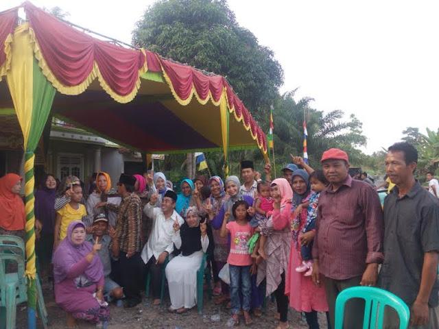 Evandri Siap Membangun Desa Dengan Hati
