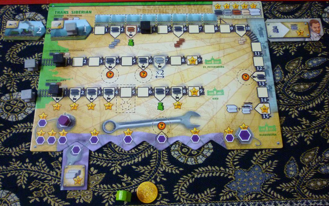 russian railroads board game review