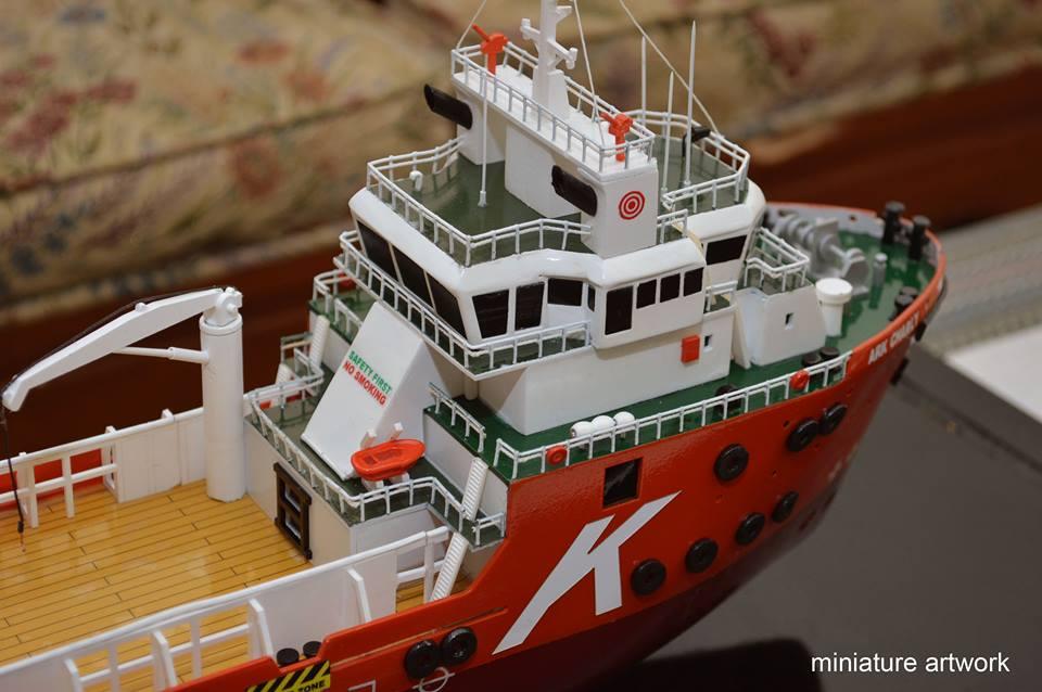 Miniatur Kapal Laut AHTS Murah dan Bergaransi