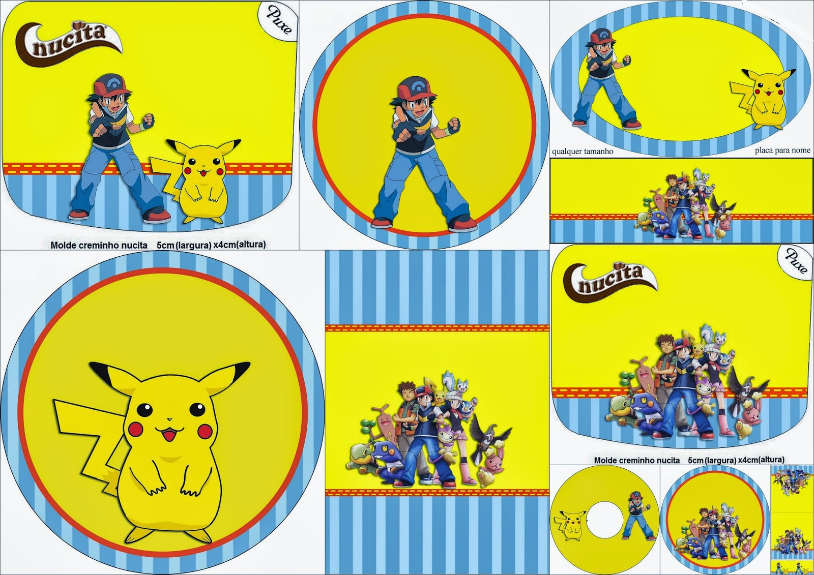 pokemon templates print - pokemon free printable candy bar labels oh my fiesta